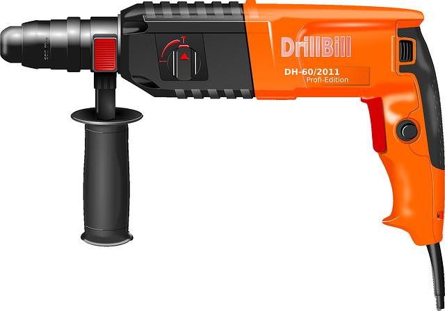 Utilisations et types de marteaux perforateurs